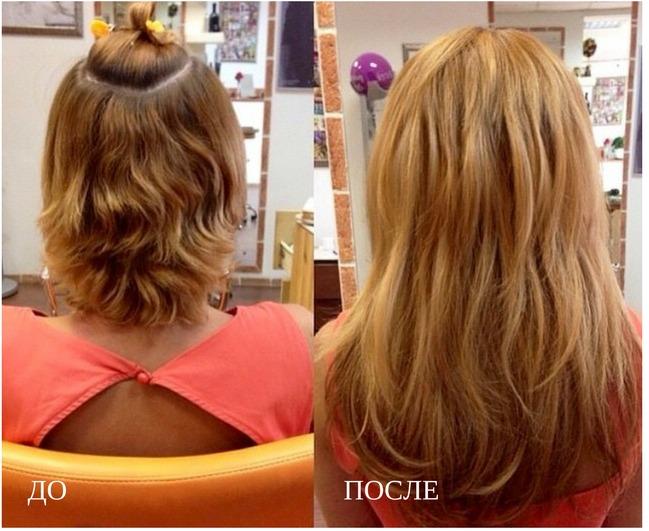 методика горячего наращивания волос