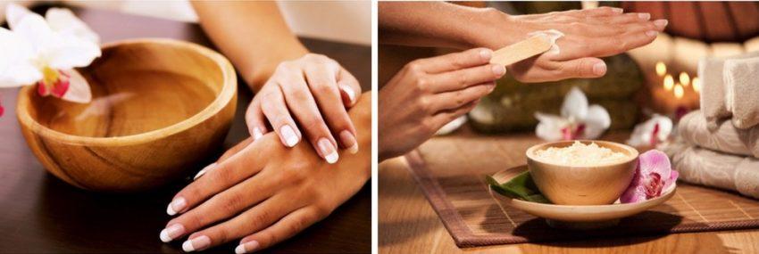 процедуры по уходу за кожей рук