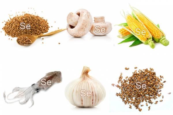 продукты питания содержащие селен