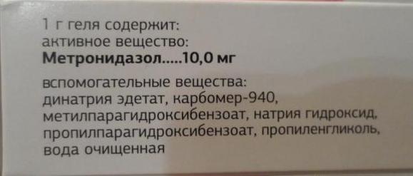 Мазь Метрогил