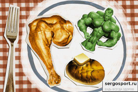 питание и диета бодибилдера