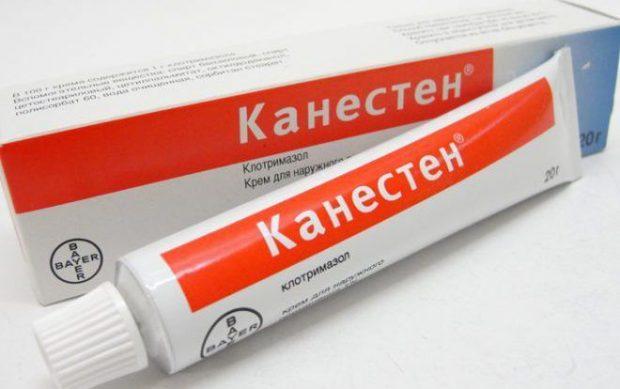 Мазь Канестен