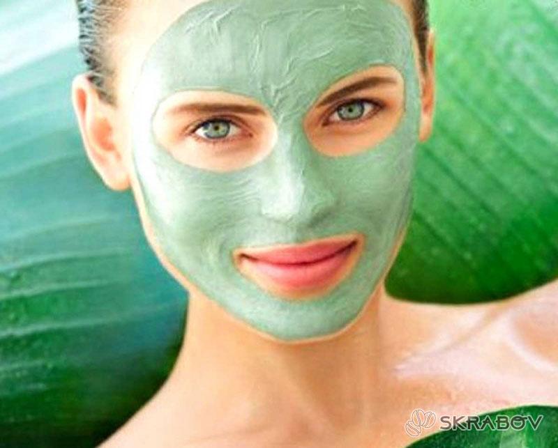 Отбеливающая маска для лица из петрушки 38-2