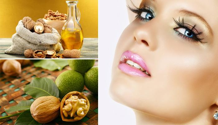 Применение масла грецкого ореха в уходе за кожей лица