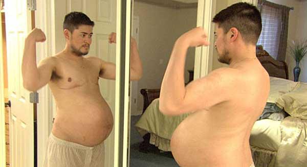 Томас Бити - единственный беременный мужчина