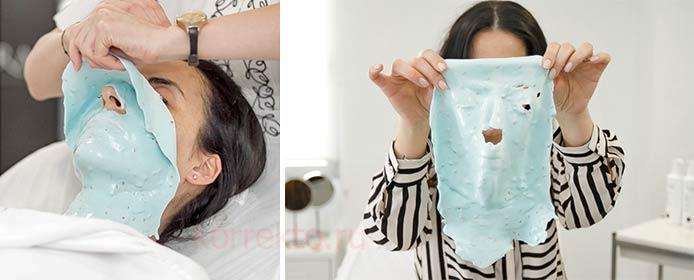 применение альгината в косметологии