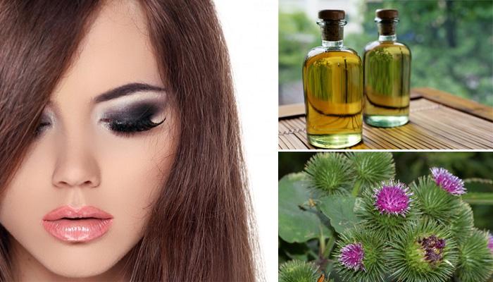 Репейное масло для ресниц и бровей: способы применения в домашних условиях
