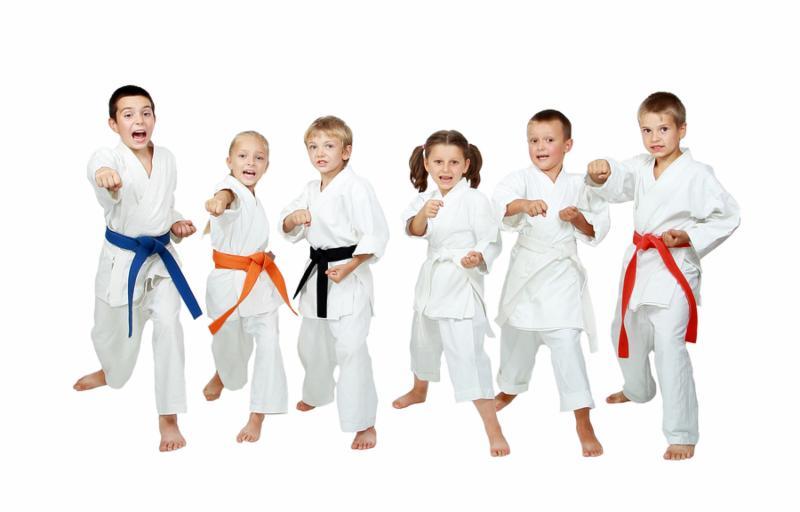 Занятия каратэ детям