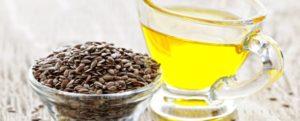льняное семя и масло