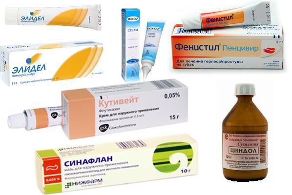 Антигистаминные мази: мази от аллергии на коже