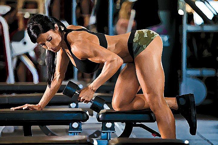 Картинки спорт упражнений по бодибилдингу