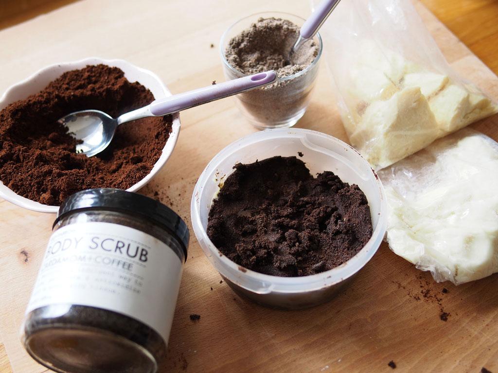 Кофейный скраб от целлюлита в домашних условиях 3-5