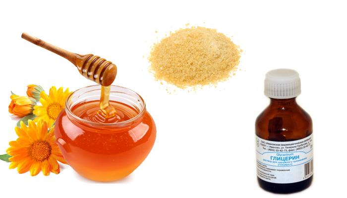 Коллагеновая маска: желатин и глицерин