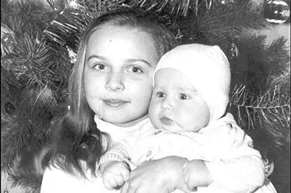 Овсиенко в детстве