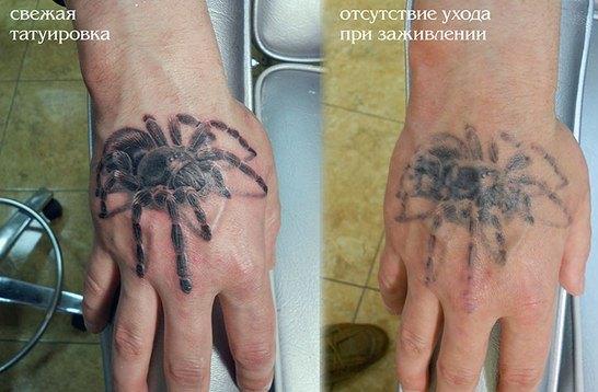 Мазь для заживления татуировки