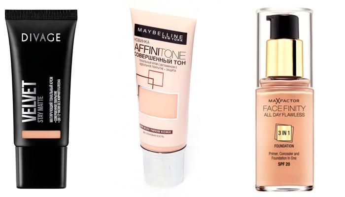 Тональный крем для комбинированной кожи лица: что выбрать?