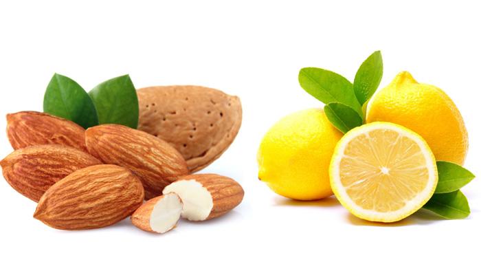 скраб с миндалем и лимоном