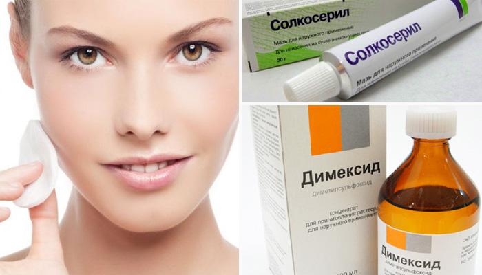 Маска с димексидом и солкосерилом: эффективный «ботокс» в домашних условиях!