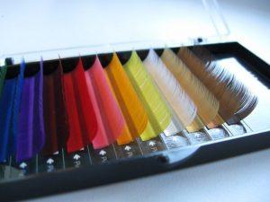 Цветные ресницы I-Beauty