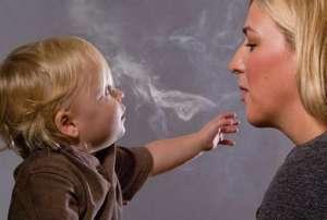 пассивное курение дети