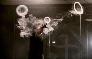 Как делать кольца из дыма кальяна