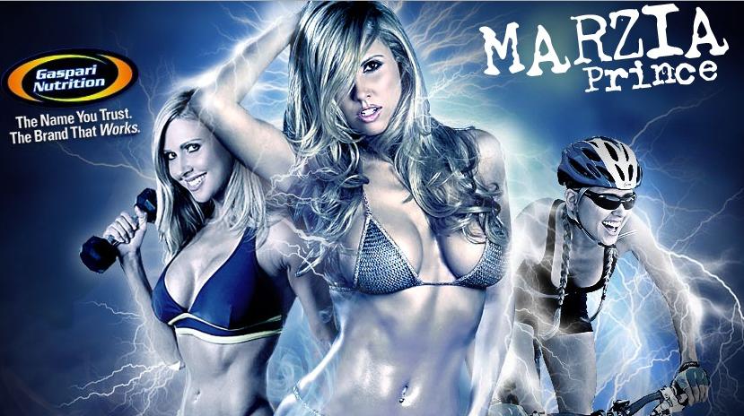 Марсия Принс(Marzia Prince)-фитнес модель