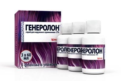 ГЕНЕРОЛОН спрей для роста волос