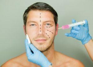 восстановление упругости кожи мужчины