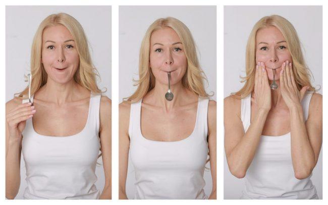 Как убрать бульдожьи щечки