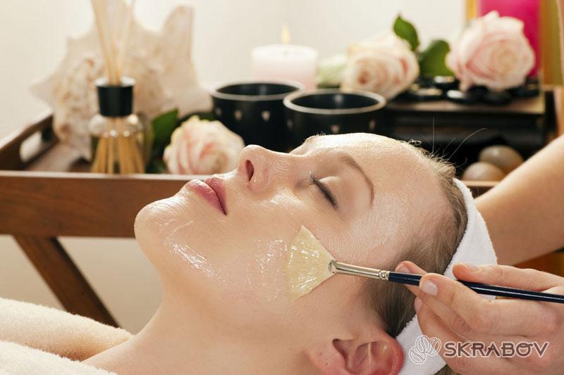 Желатиновые маски для лица с подтягивающим эффектом от морщин 45-3
