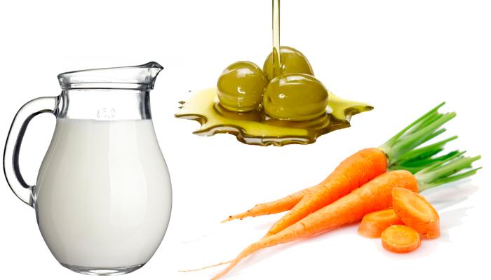 Маски для лица из молока: основные свойства и особенности применения