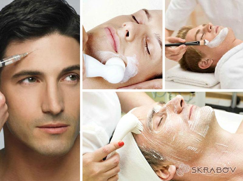 Очищение лица мужчин: особенности очищения мужской кожи 12-2-1