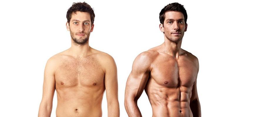 Как добиться рельефа мышц в домашних условиях мужчине