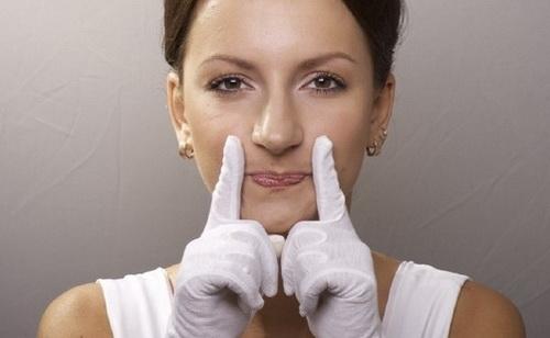 гимнастика отморщин вокруг носа