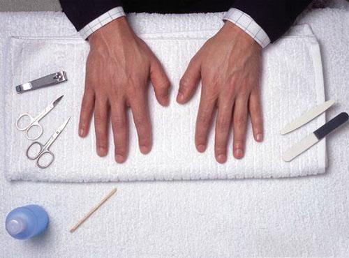 Уход за ногтями у мужчин