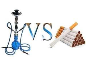 Сравнение вреда от кальяна и сигарет