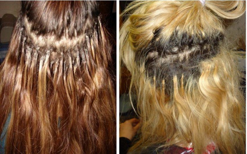 актуальные фотографии волосы после наращивания фото последствия только запомнить, что