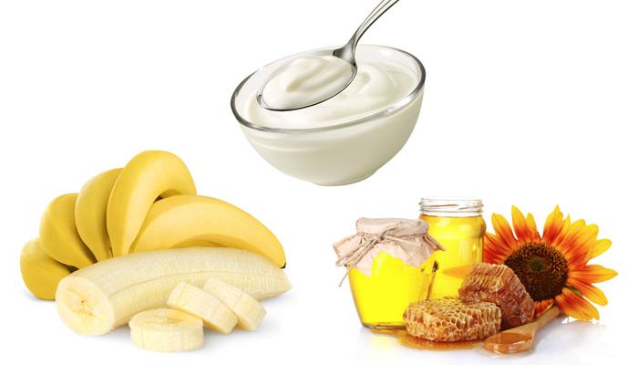 Маска из банана для лица помощница в борьбе с морщинами