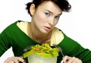 Салат в диете