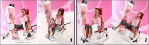 тренажеры для женщин сведение и разведение ног