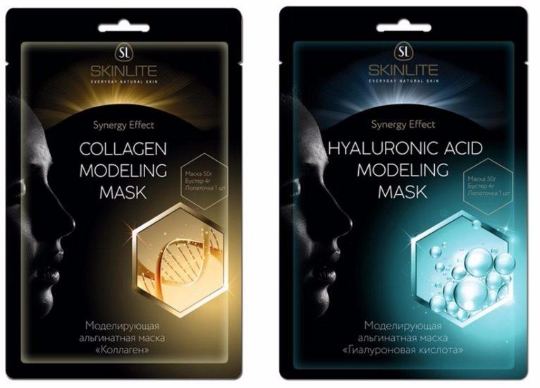 виды альгинатных масок