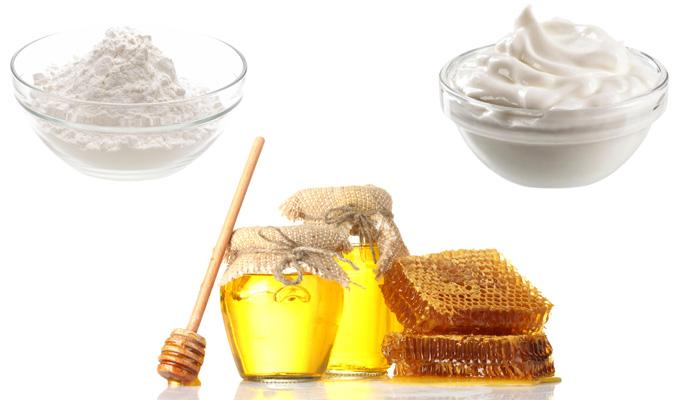 мед, сливки, сода