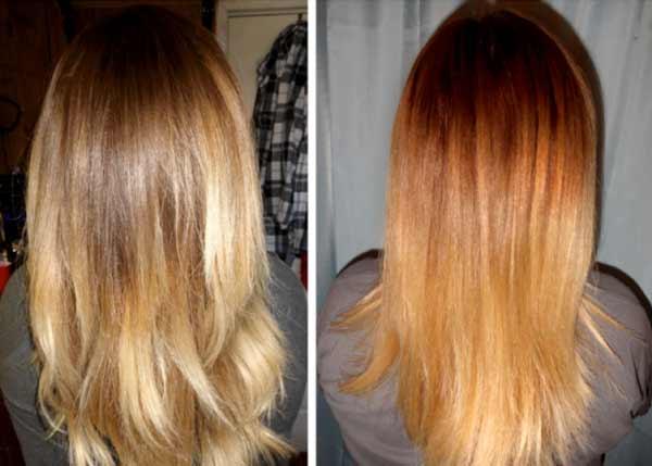 осветление волос лимоном с корицей
