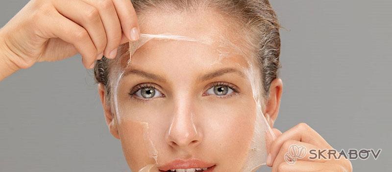 Очищающая маска для лица с желатином 47-5