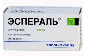 Эспераль против алкоголизма: описание препарата и отзывы принимавших