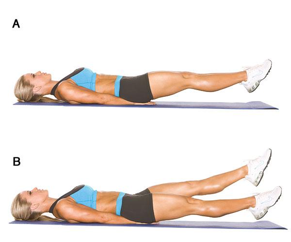 упражнения для осиной талии