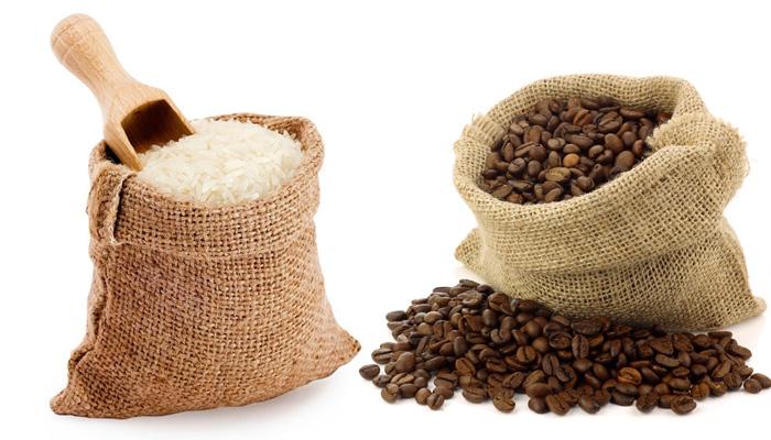 скраб из риса и кофе
