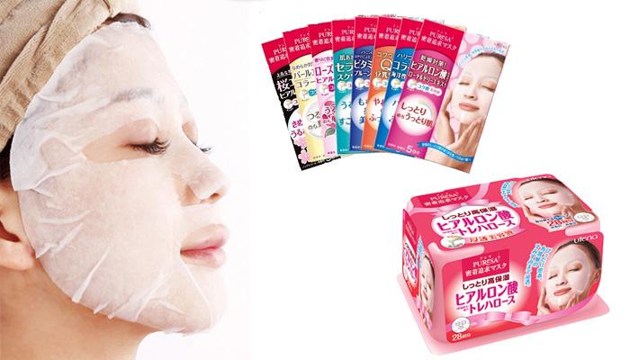 Японская маска для лица с гиалуроновой кислотой