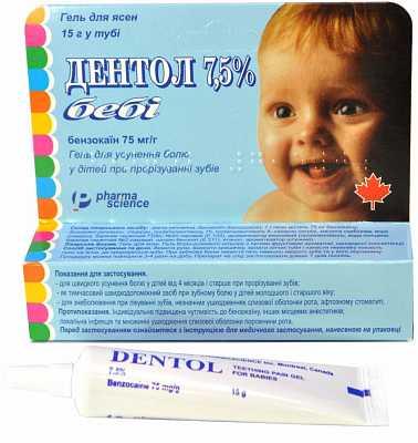 Мазь для десен при прорезывании зубов