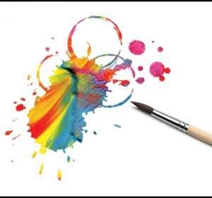 смешивать краски